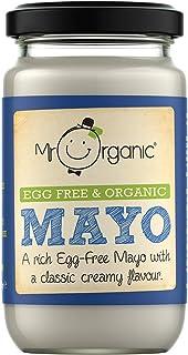 Mr Organic Egg Free and Organic Mayonnaise, 180 g