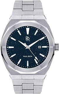Paul Rich Star Dust Silver - Reloj de pulsera automático para hombre (45 mm, acero inoxidable)