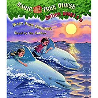 Magic Tree House Collection: Books 9-16                   Written by:                                                                                                                                 Mary Pope Osborne                               Narrated by:                                                                                                                                 Mary Pope Osborne                      Length: 5 hrs and 23 mins     9 ratings     Overall 4.9