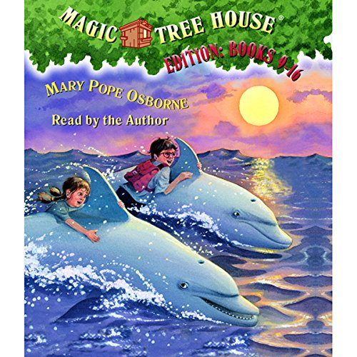 Magic Tree House Collection: Books 9-16 audiobook cover art