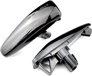HAZYJT Compatible avec Mitsubishi Lancer Evolution Evo X Outlander Sport RVR ASX Mirage 2014+ LED Garde-Boue Latéral Dynam...