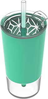 Ello Tidal Glass Tumbler with Straw