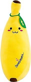 FAKEME Almofada Banana Almofada Frutas Almofada Supermacia Abraçando Presentes para Crianças - 50cm