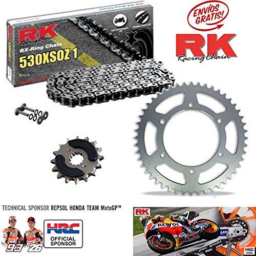 Kit de Transmision RK Suzuki Bandtit GSF 600 2000-04 15/47-112