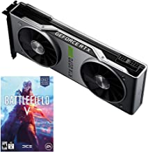 NVIDIA GeForce RTX 2070 Super Founders Edition - 8GB GDDR6 1770 MHz Memory - 2560 Cores - Ray Tracing - DP/HDMI/DVI-DL - V...