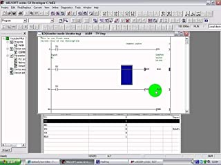 PLC Development Software Ladder logic functions with Professional automation training course GX-DEV-FX