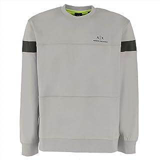 Armani Exchange Men's London Fog/Truffle/a Sweatshirt
