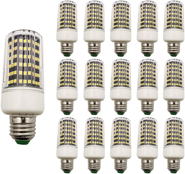 15 Stück LED Mais-Licht 15W E27 Warmwei 3000K AC220V 1100LM für Garten Werkstatt Küche Esszimmer Ankleidezimmer Straenbeleuchtung Wohnzimmerlampe
