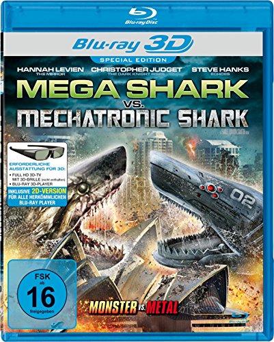 Mega Shark vs. Mechatronic Shark  (inkl. 2D-Version) [3D Blu-ray]