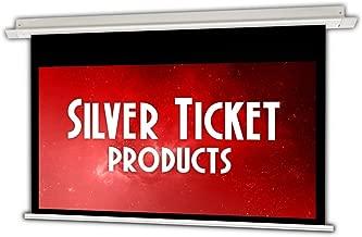 SIE-169112 Silver Ticket 16:9 4K Ultra HD Ready HDTV in-Ceiling Electric Projector Screen (16:9, 112