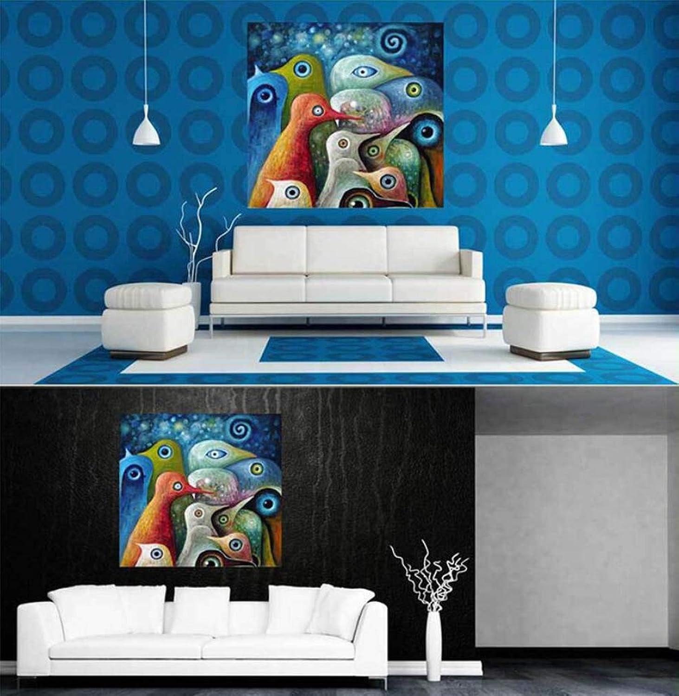 saludable YLB Parojo Arte sin Marco Marco Marco Pintado a Mano Pintura al óleo Abstracta acrílico Sola Lona Lienzo Sala de Estar Decorativa Parojo Cartel,M  orden en línea