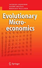 Evolutionary Microeconomics