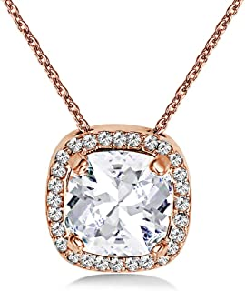 MESTIGE Women Crystal Rose Gold Charity Necklace with Swarovski Crystals
