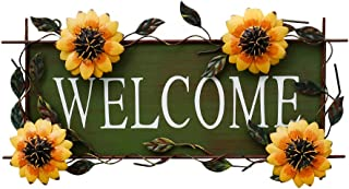 Best sunflower welcome sign Reviews