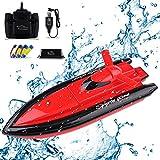 Seamuing Barco Teledirigido, Barcos de Control Remoto Lancha Radiocontrol...