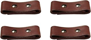 Lot of 4 Leather Breakaway Tab Repair Kit for Horse Safety Halters