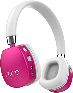 Puro Sound Labs PuroQuiets Volume Limited On-Ear Active Noise Cancelling Bluetooth Headphones – Lightweight Headphones for...
