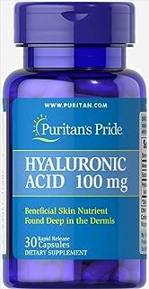 Best puritan's pride hyaluronic acid 100 mg-120 capsules Reviews