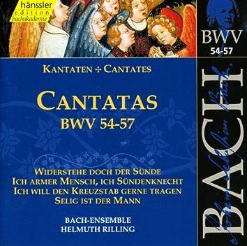 Bach, J.S.: Cantatas, Bwv 54-57