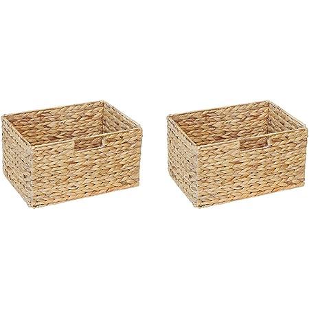 Ikea Billy cesta para estanterías (Juego de 2)/jacinto de agua