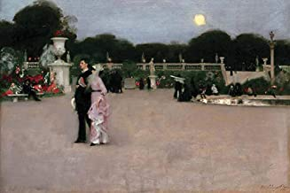 ArtParisienne in The Luxembourg Gardens John Singer Sargent 24x36-inch Wall Decal