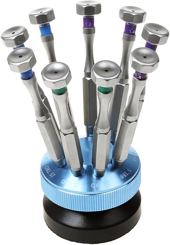 MagiDeal Mini Schraubendreher Set - - - 9-teilig, Uhr Brillen Reparatur Schraubenzieher Set für Uhrmacher und Optiker Werkzeug B01M3565BG | Beliebte Empfehlung  45e525