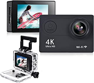 Action Camera Cam HD 4K WiFi 12 MP 2inch 1080p / 60fps Casco Impermeabile Subacqueo Registrazione Videoregistratore DV Vid...