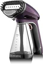 Black+Decker 1500W Handheld Portable Garment Steamer with Auto Shut-Off, Purple - HST1500-B5, 2 Year Warranty