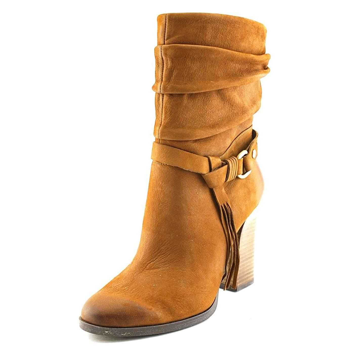 薬を飲む多くの危険がある状況寺院Guess Womens Tamsin Almond Toe Leather Fashion Boots