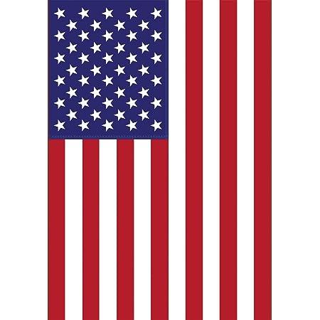 Amazon Com Toland Home Garden Usa 28 X 40 Inch Decorative Patriotic America Red White Blue Country Nation House Flag Outdoor Flags Garden Outdoor