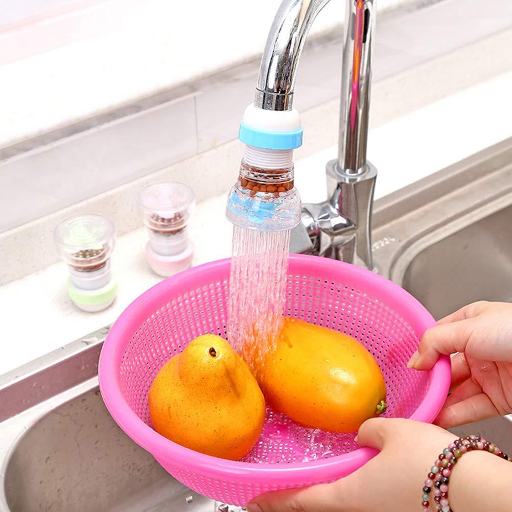BESTONZON - Filtro de agua de 360 grados para grifo de cocina ...