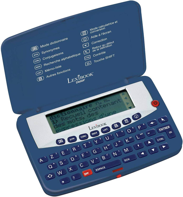 Lexibook d600F Wrterbuch Elektronische blau