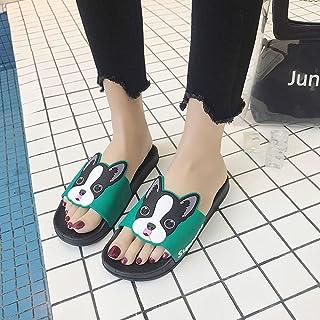 PERRTWDLF Zapatos de Playa Zapatillas Divertidas Mujer Verano niños Ocio Sandalias Zapatos para Padres e Hijos Antidesliza...