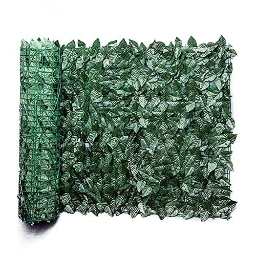 KKmoon Plantas Hiedra Artificial Decoración Interior y Exterior Guirnalda Hiedra Artificial De Hogar Boda Jardín Valla Escalera Ventana para Decoración