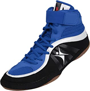 SF Wrestling Shoes Boxing Boots Rubber Sole Combat Training Sport Sneakers for Men&Women&Children Kids Teenage