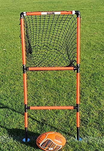 Rugby Passing Target Spring Loaded Pass Master Solo Pro Training Equipment
