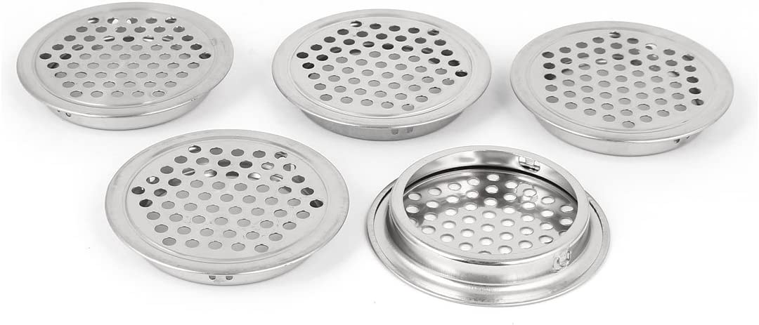 Aexit Kitchen 53mm Weatherproofing Bottom Mesh Hole Met Flat Dia Large Ranking TOP7 discharge sale