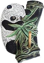 YARNOW Wall- mounted Keyring Hook Resin Animal Panda Clothes Hanger Decorative Adhesive Hooks For Hanging Coats Hat Purse ...
