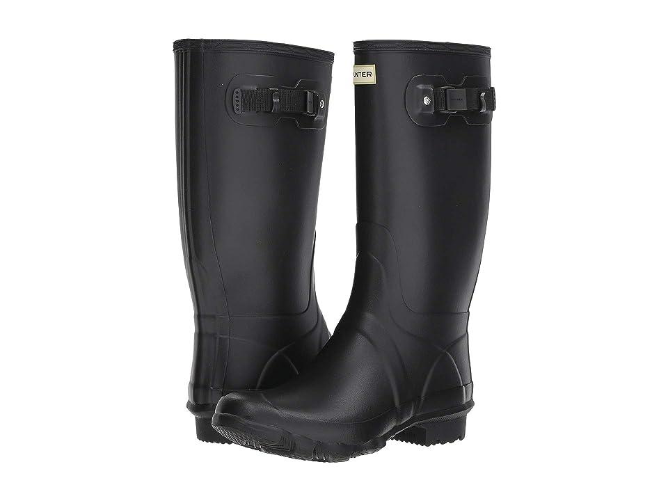 Hunter Huntress Field Boot (Black) Women