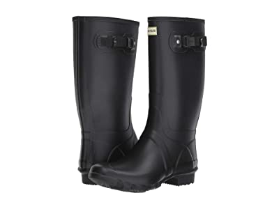 Hunter Huntress Field Boot (Black) Women