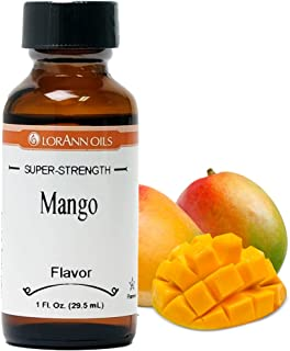 LorAnn Mango Super Strength Flavor Flavor, 1 ounce bottle