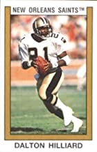1989 Panini Stickers Football #111 Dalton Hilliard New Orleans Saints