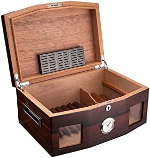 Smoking Set/Cigar Accessories Humidors Alcoholized Painted Cigar Box Cigar Portable Cigar Box Decorative box