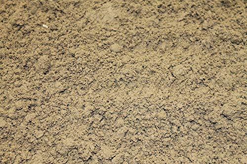 Kultpfötchen 25kg Fertigmix Terrariensand mit Lehmpulver I grabfähig & formbar I Sand-Lehm-Gemisch 1:5 I wählbar auch 1kg - 5kg - 10kg - 30 kg