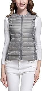 grey collarless coat