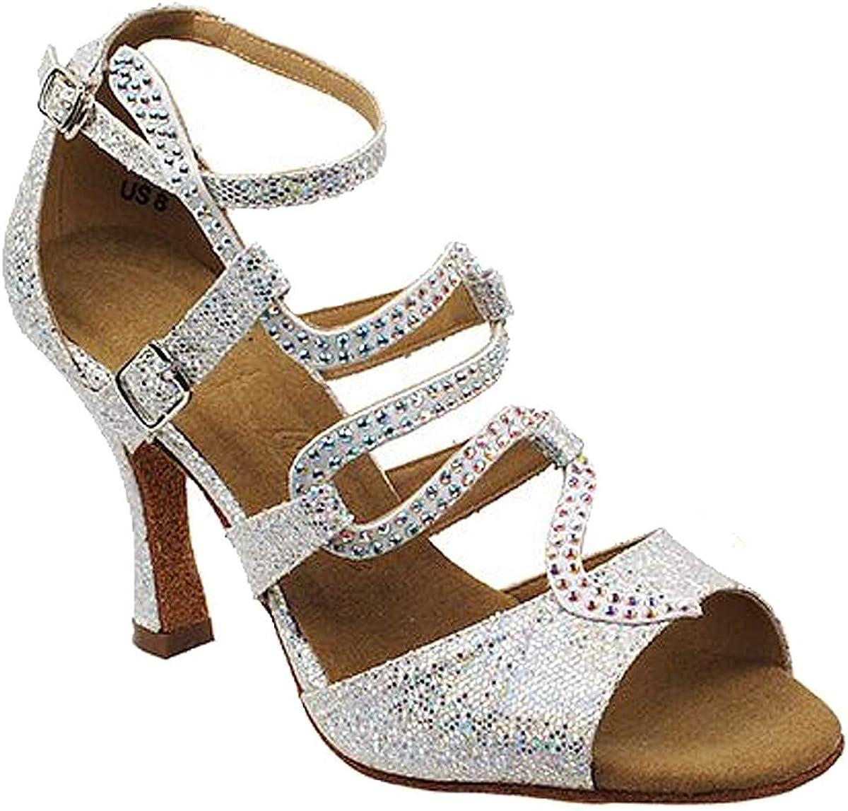 Women's Ballroom Dance Shoes Tango Wedding Salsa Shoes Sera7017EB Comfortable-Very Fine 3