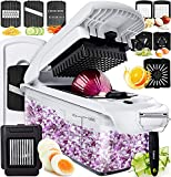 Fullstar Vegetable Chopper Dicer Mandoline Slicer - Food Chopper Vegetable Spiralizer Vegetable...