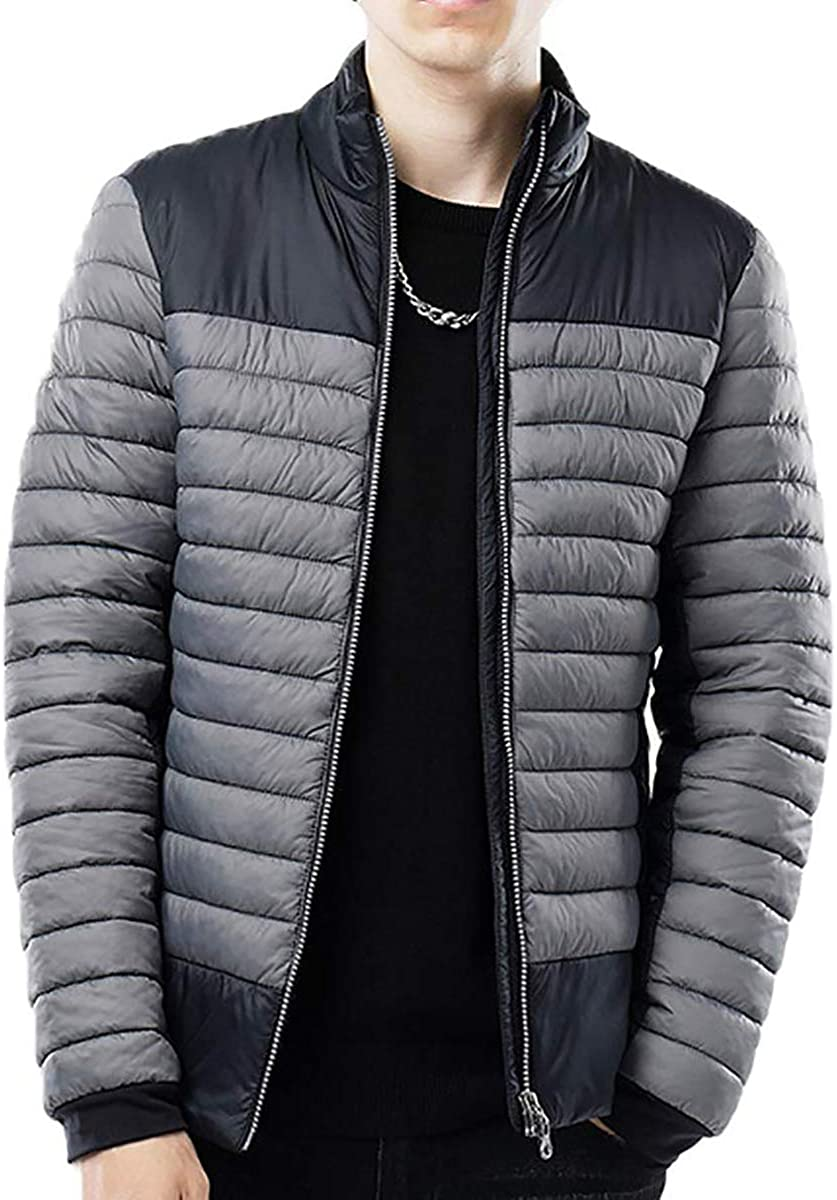 N&D mens Puffer Coat,puffer Jacket