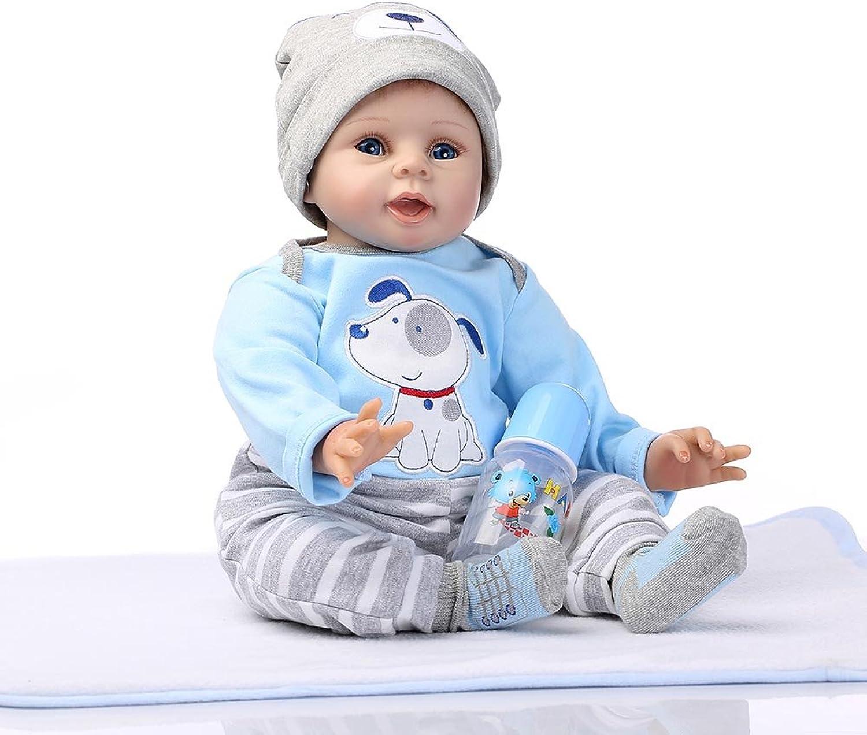 JUNERAIN Weiches Silikon-Nette Lebensechte Reborn-Baby-Puppe Spielt Kindergeburtstagsgeschenke B07H3P8S85 Ausgezeichnete Leistung  | Feinbearbeitung