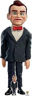 Star Cutouts SC1363 - Muñeca ventrilóquica de tamaño real (183 cm de altura, incluye escritorio de cartón Standee Toy Stor...